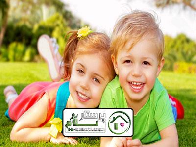 امور منزل و آشپزی و مراقبت از کودک شهریار