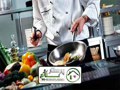 امور منزل و آشپزی برای دو نفر آجودانیه