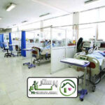 همراه بیمار دربیمارستان فیاض بخش