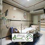 همراه بیمار در بیمارستان امام حسین