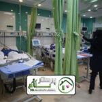 همراه بیمار در بیمارستان امام خمینی