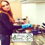 امور منزل و آشپزی در دیباجی