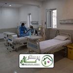 همراه بیمار در بیمارستان امام خمینی (ره)