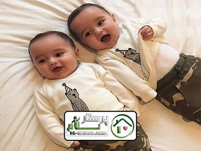 پرستار نوزاد دوقلو مرزداران