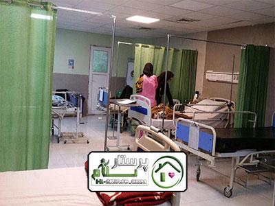 همراه بیمار در بیمارستان سردار سلیمانی